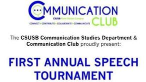 Guest speaker at CSUSB, Palm Desert Campus