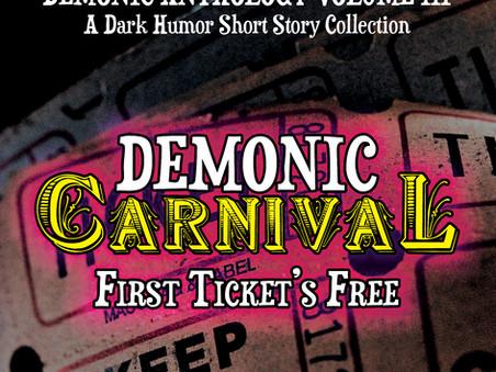 Short story published in dark humor anthology