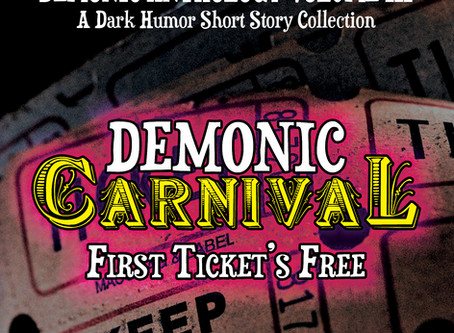 Short story published in dark humor anthology