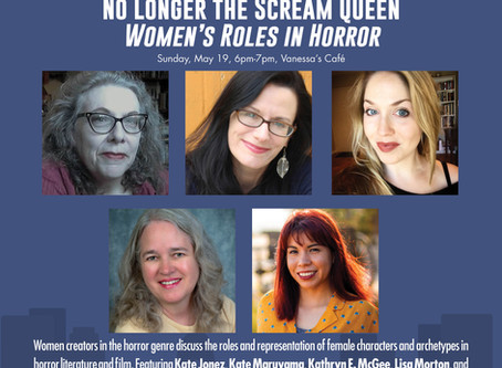LitFest Pasadena women in horror panel on Sunday, May 19