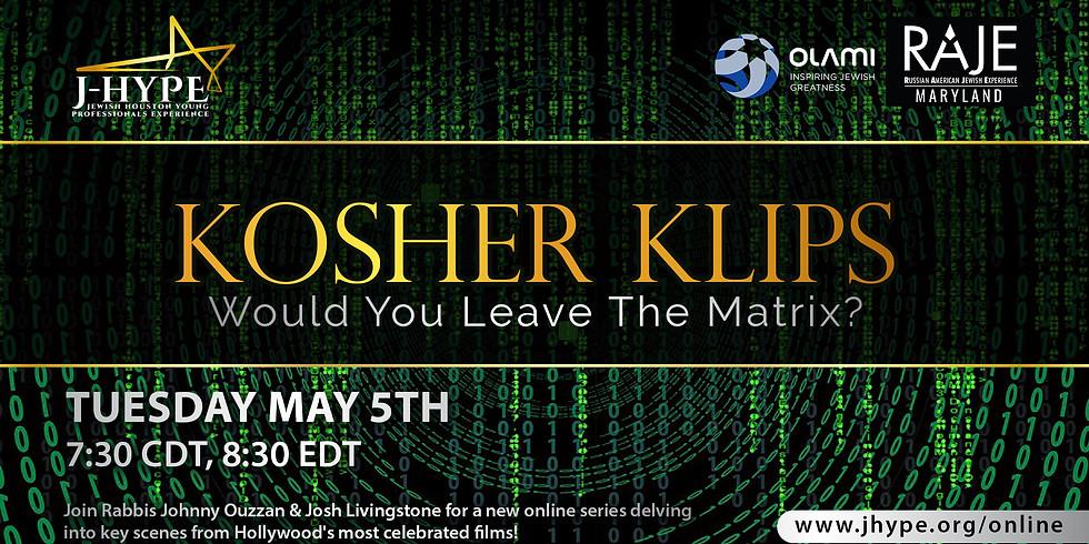 Kosher Klips - Would You Leave The Matrix?