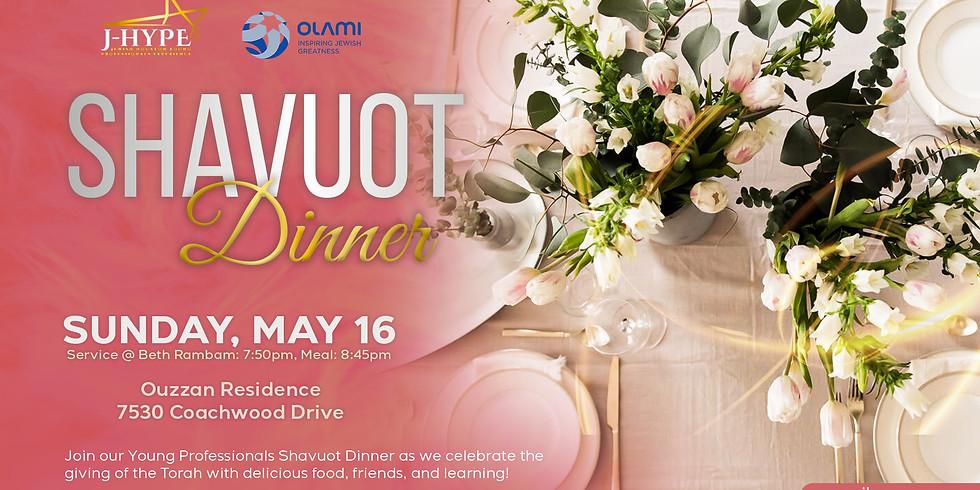 Shavuot Dinner