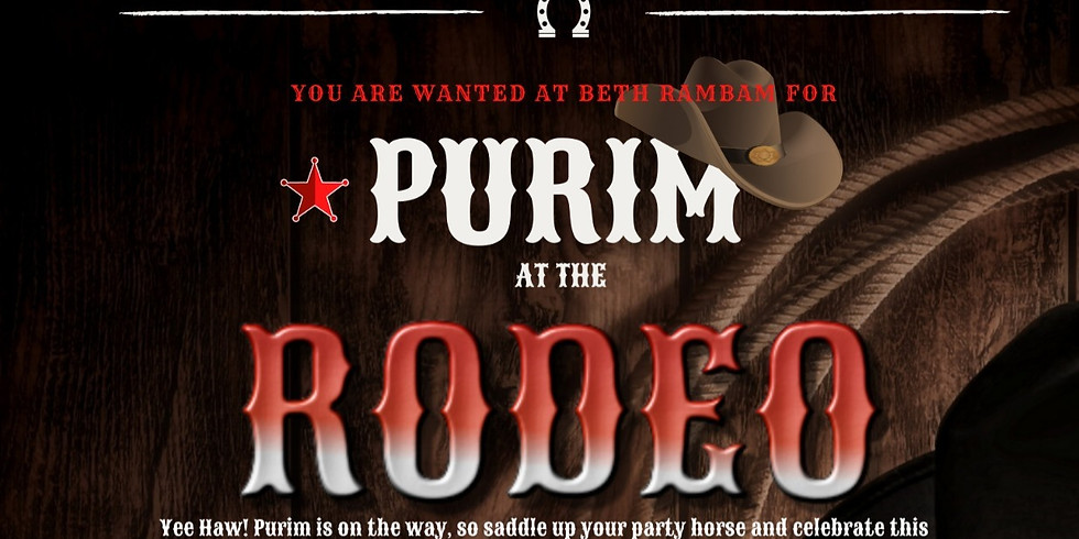 Purim At The Rodeo
