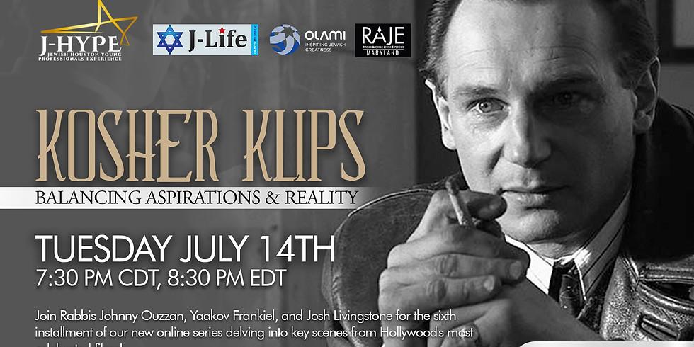 Kosher Klips - Balancing Aspirations & Reality