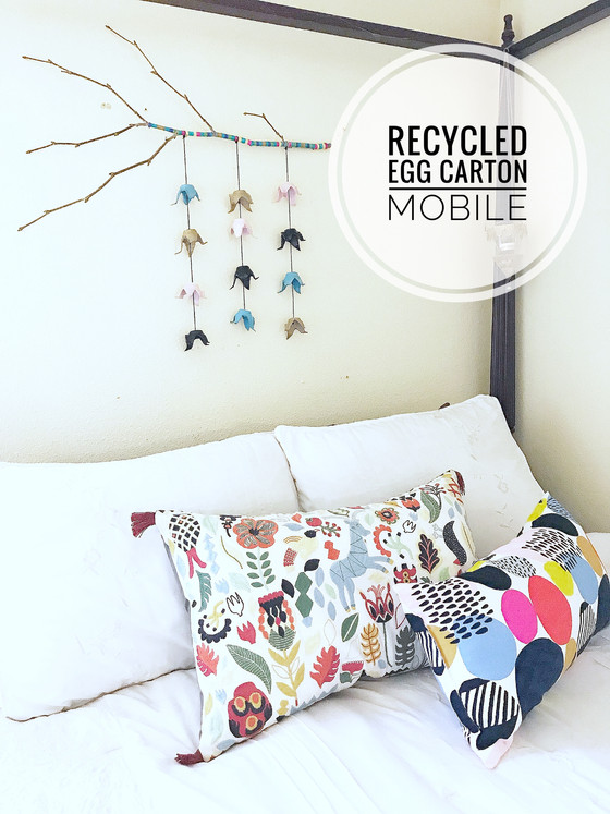 DIY :: Recycled Egg Carton Mobile