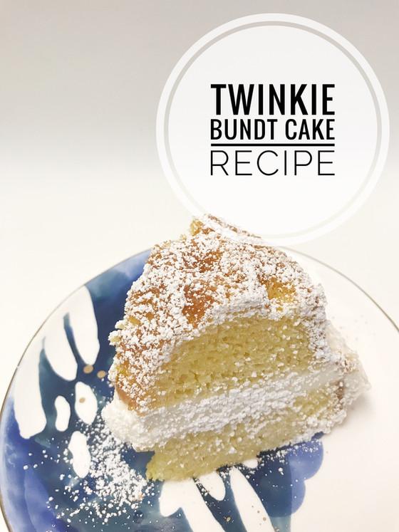 Food :: Twinkie Bundt Cake Recipe