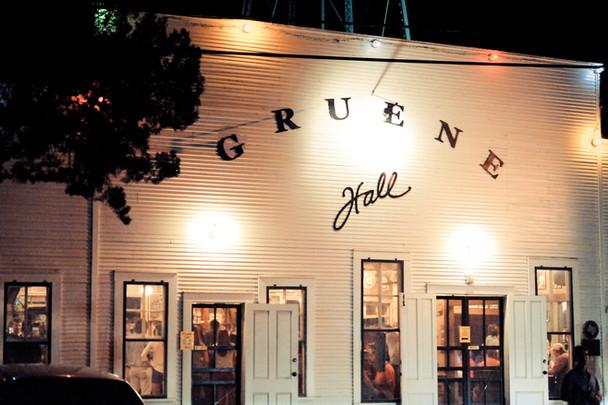 Gruene Hall, Gruene, Texas