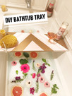 DIY :: Bathtub Tray