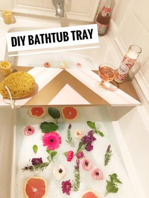 DIY :: Bathtub Tray