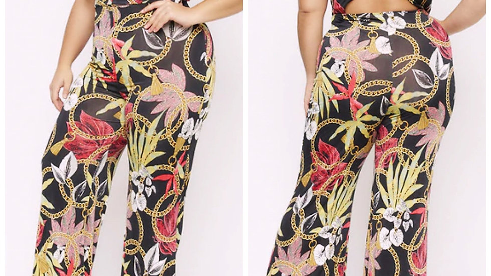 Tropical Hottie Plus Jumpsuit