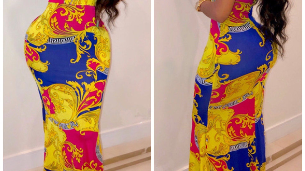 Meant To Be Royal Maxi Dress
