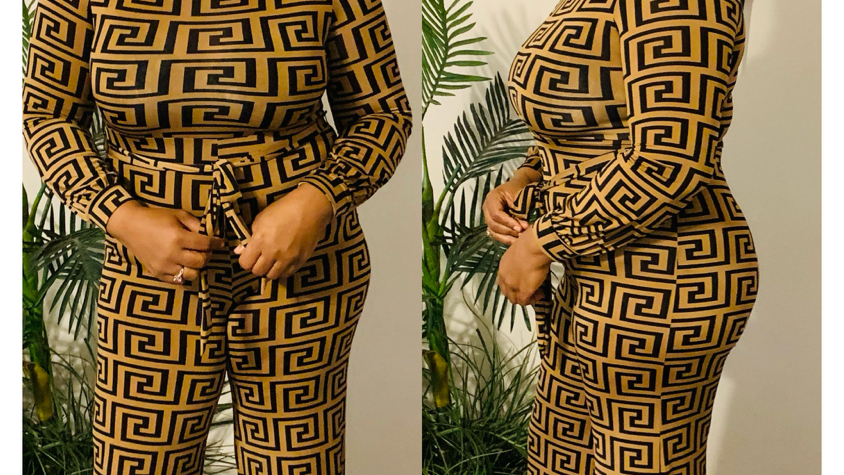 It's AMAZE-ING Belted Jumpsuit