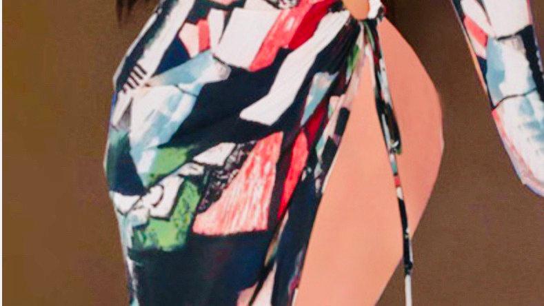 Hot Girl Shirt Dress