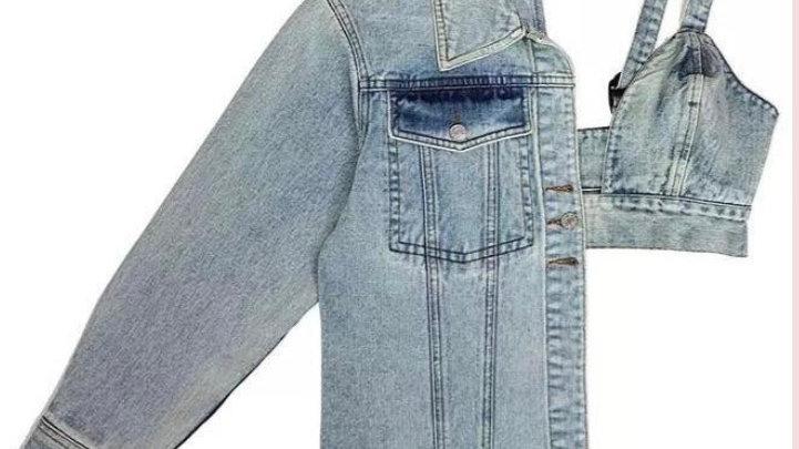 The Switch Up Denim Jacket