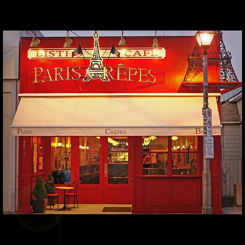 Restaurant Crepe Paris
