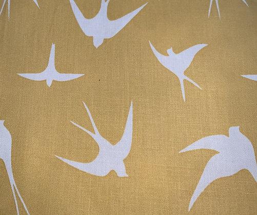 Yellow bird bow tie