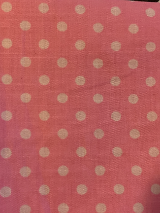 SALE Large Bow - Pink spot