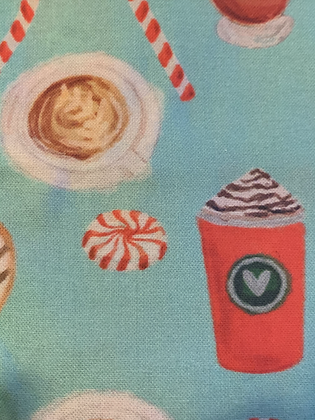 SALE Large Bow - Peppermint latte