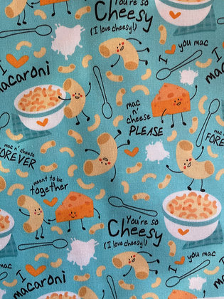 Mac and cheese bow tie