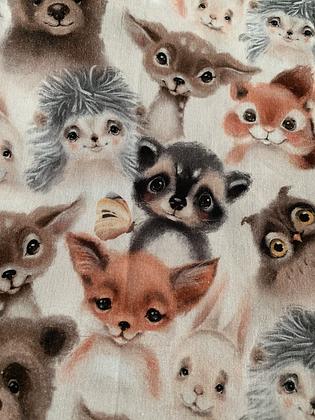 Baby animals bow tie