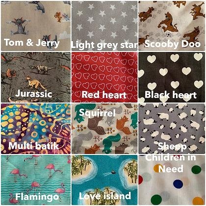 Scrunchies - in 12 designs