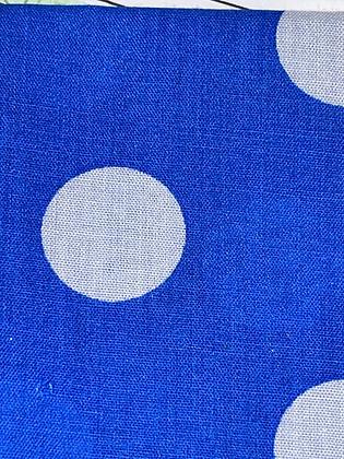 SALE Small Bow -Big blue spot