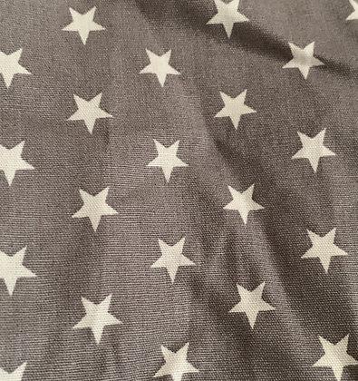 SALE Small Bow -Grey stars