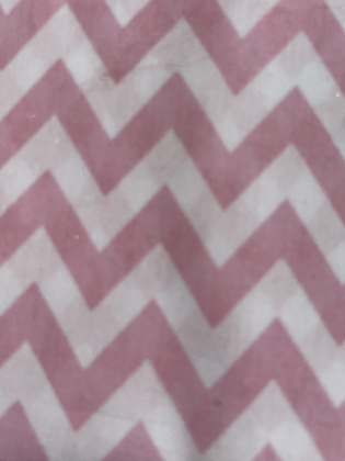 SALE Medium Bow- Pink zig zag