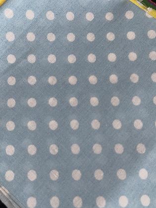 SALE Medium Bow -Baby blue spot