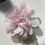 Thumbnail: Mini Baby pink Flower elastic loop attachment