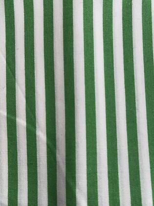 SALE Medium Bow - Green stripe