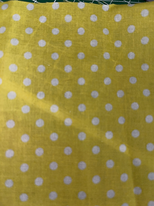 SALE Medium Bow - Yellow spot