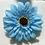 Thumbnail: Blue Flower elastic loop attachment