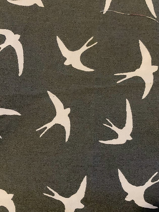 SALE Small Bow - grey bird