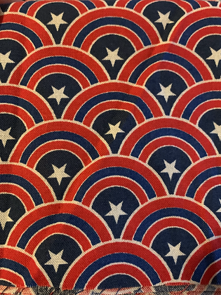 SALE Large Bow - Captain America