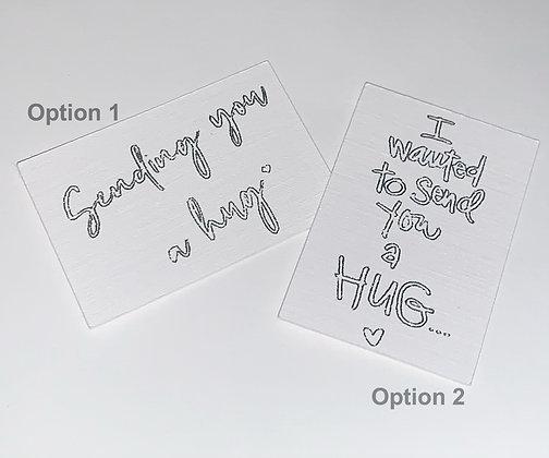 Send a hug Keyring