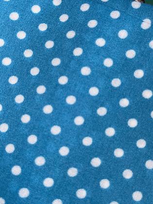 SALE Large Bow - Blue spot