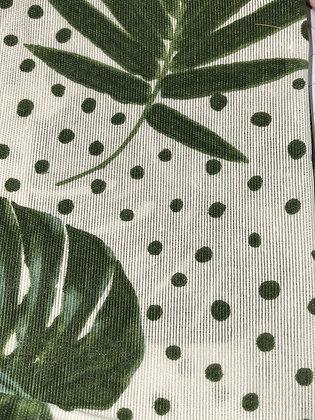 SALE Medium Bow - Palm leaf