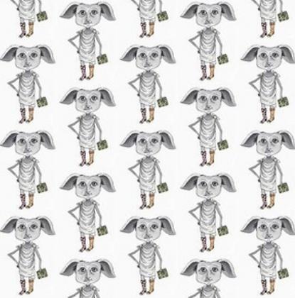 Dobby bow tie