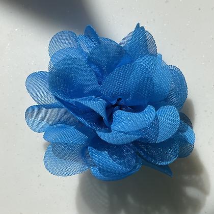 Mini Blue Flower elastic loop attachment
