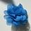 Thumbnail: Mini Blue Flower elastic loop attachment