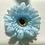 Thumbnail: Baby blue Flower elastic loop attachment