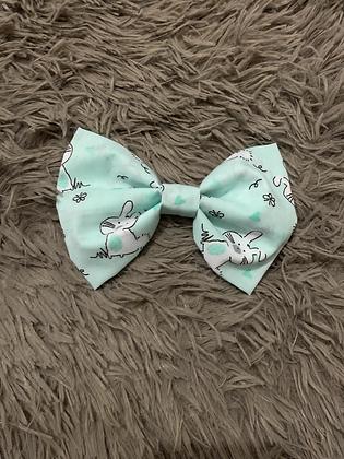 SALE Large Bow - Mint bunny
