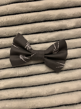 SALE Small Bow - Skeleton peace