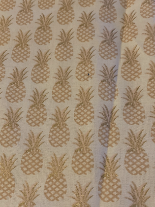 SALE Small Bow - Pineapple