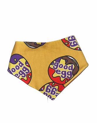 """SALE - XS Good egg bandana up to 13"""" neck"""