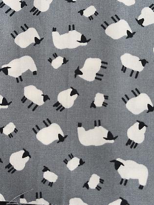SALE Medium Bow- Grey sheep