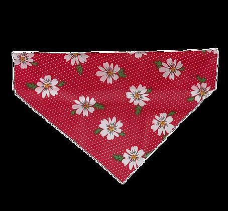 Red flower Bandana