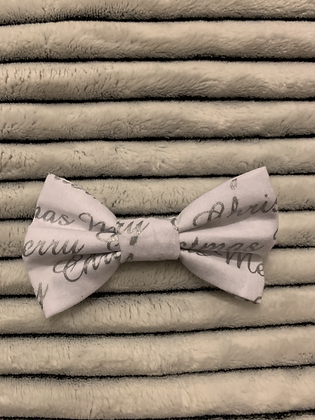 SALE Small Bow - Merry Christmas