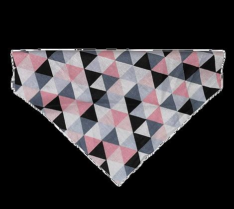 Pink geometric Bandana